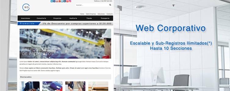 Web Corporativo DDCT