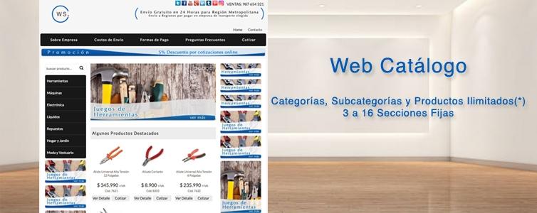 Web Catálogo DDCT
